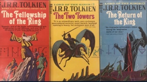 Ace Books Bootleg USA 1965 versions of Lord of the Rings Trilogy